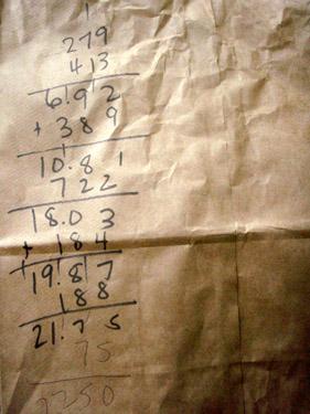bag math