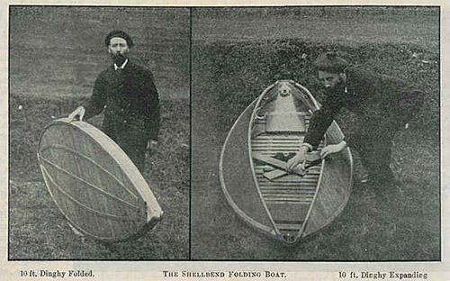 Shellbend Folding Boat