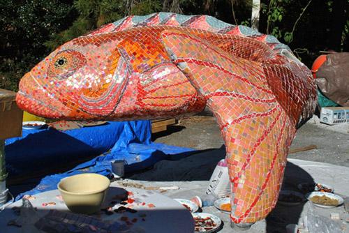 rockfish sculpture