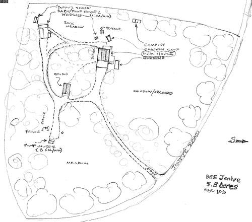 885 jonive site plan