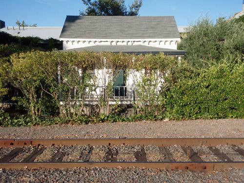 st helena railroad shanty