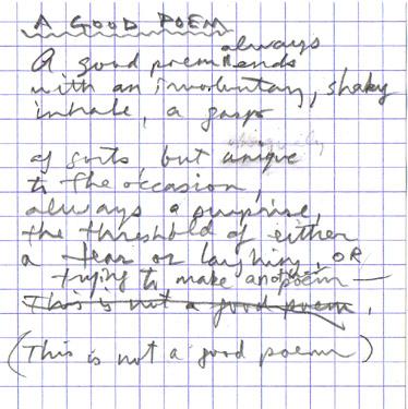 good poem