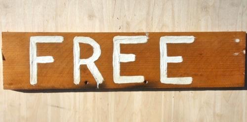 free sign bodega